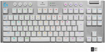 Logicool G ゲーミングキーボード テンキーレス G913 TKL ホワイト