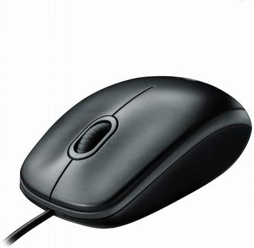 ロジクール 有線 マウス M100rBK 小型 左右対称型 USB