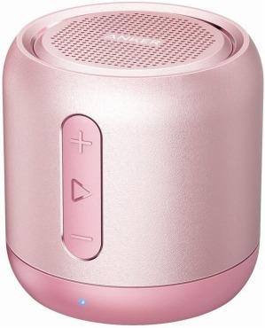 かわいいBluetoothスピーカー Anker Soundcore mini (コンパクト) ピンク