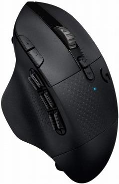 Logicool G ゲーミングマウス 無線 G604 MMO 15ボタン HEROセンサー LIGHTSPEED ワイヤレス