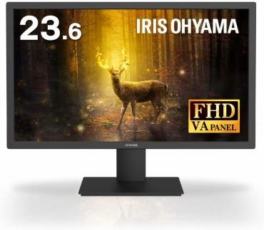 アイリスオーヤマ モニター 液晶ディスプレイ 23.6インチ ILD-A23FHD-B