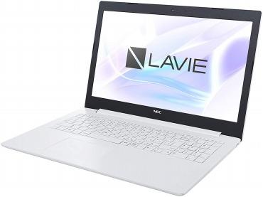 PC-NS10EM2W(カームホワイト) LAVIE Note Standard 15.6型