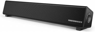 TaoTronics PC スピーカー Bluetooth 10W出力 小型 サウンドバー
