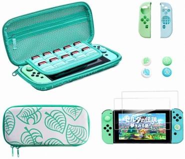 Nintendo Switch対応 収納/保護ケース どうぶつの森風