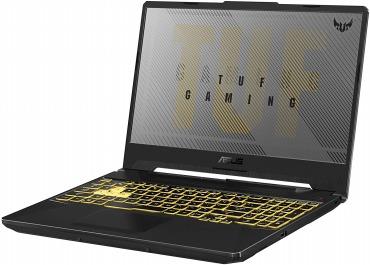 ASUS ノートパソコンTUF Gaming F15 クリエイティブにも使える