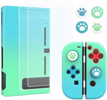 どうぶつの森 Nintendo switch カバー&ジョイスティックカバー