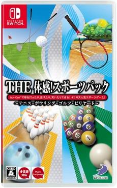 THE 体感!スポーツパック~テニス・ボウリング・ゴルフ・ビリヤード~ - Switch
