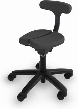 アーユル・チェアー : 骨盤を立て坐骨で座る