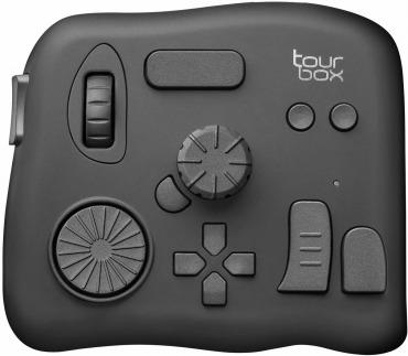 TourBox 画像編集作業 コントローラー