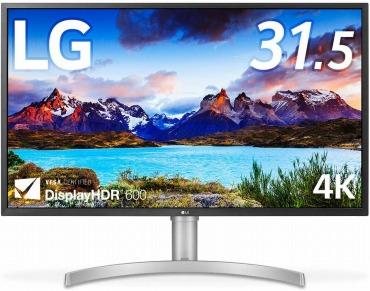 LG 4Kモニター 31.5インチ HDMI×2