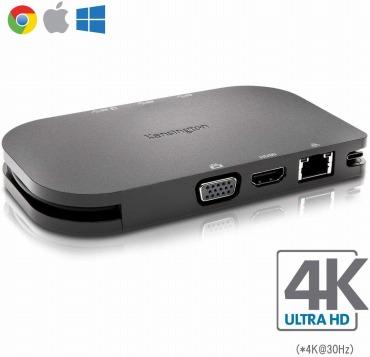 Kensington SD1600P マイクロソフト Windows Mac マックブック Chrome USB-C ハブ モバイル ドッキングステーション