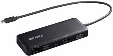 BUFFALO USB Type-C接続 5-in-1 ドッキングステーション