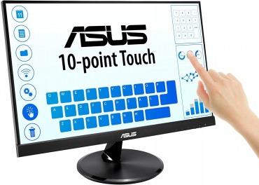 ASUS ディスプレイ 21.5インチ 10点タッチパネル液晶モニターVT229H