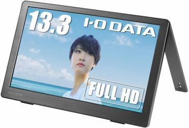 I-O DATA 13.3型 モバイルモニター USB Type-C