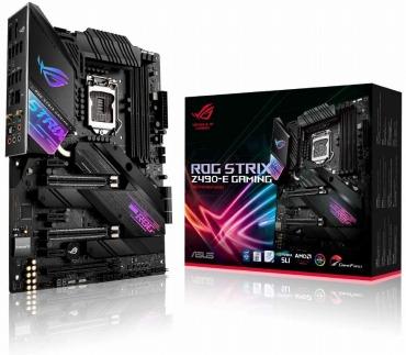 ASUS INTEL Z490 搭載 LGA1200 対応 ROG STRIX Z490-E GAMING 【ATX】