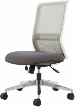 コクヨ エントリー 椅子 グレー メッシュタイプ デスクチェア