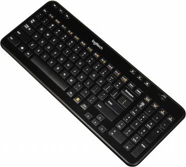 Logitech ワイヤレス キーボード K360 グロッシーブラック Glossy Black(US配列)