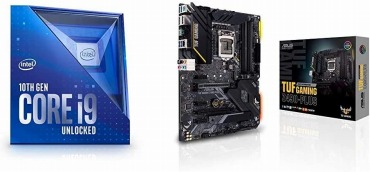 Core i9-10900K + TUF GAMING Z490-PLUS