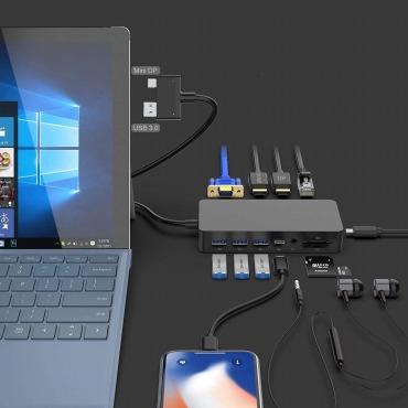 Microsoft Surface Pro対応 ドッキングステーション