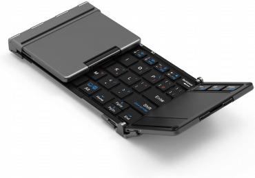 iClever キーボード 折り畳み Bluetooth usb タッチパッド