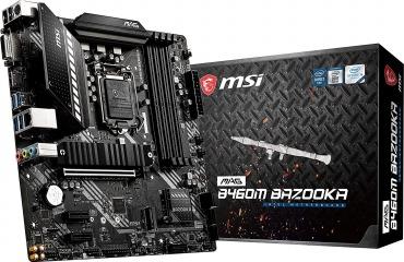 MSI MAG B460M BAZOOKA マザーボード MicroATX : Intel B460チップセット搭載