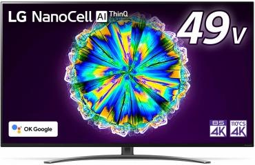 LG 49型 4K 液晶 テレビ 49NANO86JNA