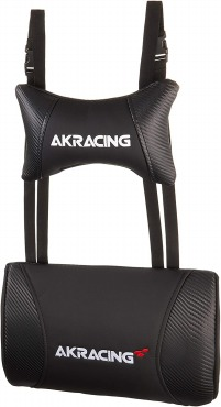 AKRacing クッションセット 交換用ヘッドレスト+ランバーサポートセット