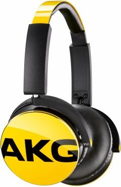 AKG Y50 ヘッドホン 密閉型 Y50YEL