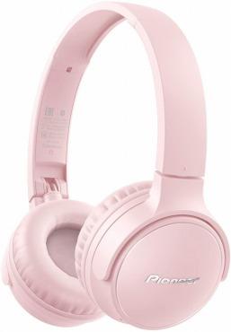 パイオニア S3wireless ヘッドホン SE-S3BT:Bluetooth/密閉型/ピンク
