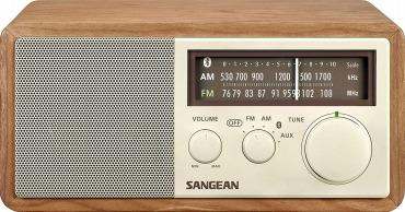 SANGEAN FM/AMラジオ対応 Bluetoothスピーカー