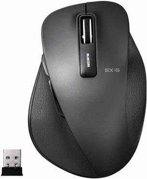 エレコム マウス ワイヤレス M-XGL10DBBK