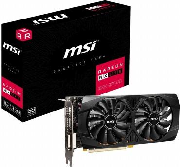 MSI Radeon RX 570 8GT OCV1