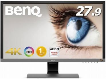 BenQ ゲーミングモニター 27.9インチ 4K