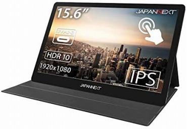 JapanNext 15.6インチ フルHD タッチパネル モバイルディスプレイ JN-MD-IPS1562TFHDR