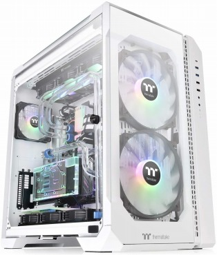 Thermaltake VIEW 51 TG ARGB Snow Edition (白) 強化ガラス