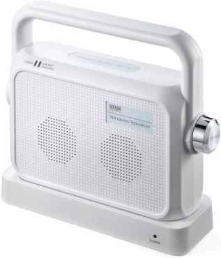 サンワダイレクト ワイヤレススピーカー TV用手元スピーカー 400-SP064W