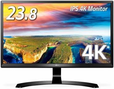 LG 4K モニター 23.8インチ 24UD58-B