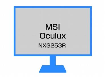 MSI Oculux NXG253R ゲーミングモニター