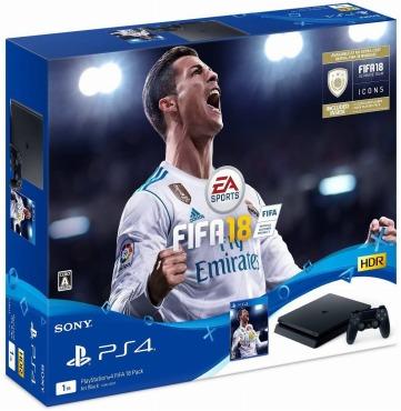 PS4 FIFA18 セット