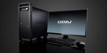マウスコンピューター DAIV A7 動画編集向けデスクトップパソコン : Ryzen 7 3700X