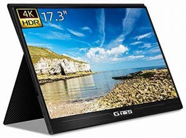 GieS 17.3インチ 4K モニター