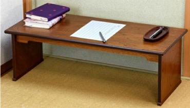 アンティーク風 ローデスク 座卓 文机
