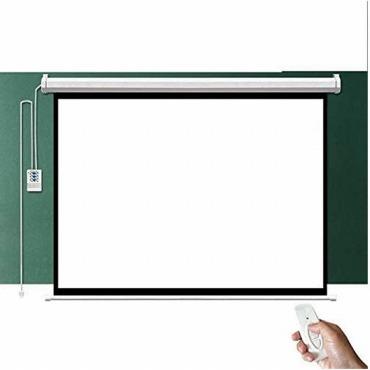 電動式と手動式のスクリーン