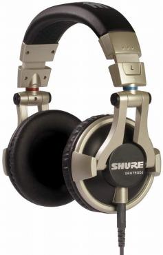 SHURE 密閉型 DJヘッドホン SRH750DJ-A
