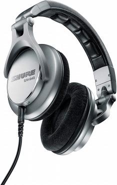 SHURE シュア モニター用ヘッドホン SRH940-SL-A