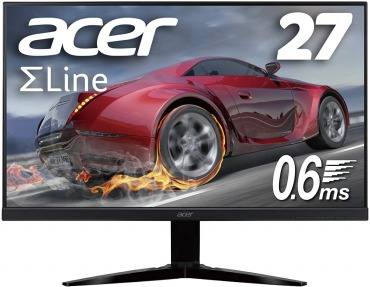 Acer ゲーミングモニター SigmaLine 27インチ KG271Dbmiix