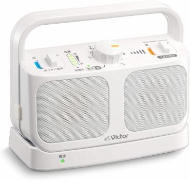 Victor JVC SP-A900-W テレビ用ワイヤレススピーカーシステム みみ楽シリーズ