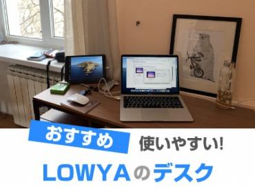 LOWYA(ロウヤ) デスク