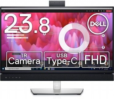 Dell カメラ付きモニター 23.8インチ C2422HE