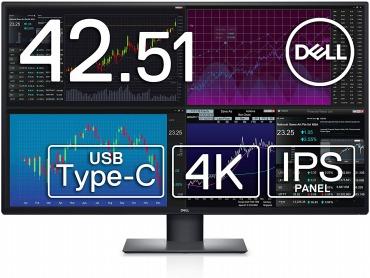 Dell 4K 大型モニター 42.51インチ U4320Q